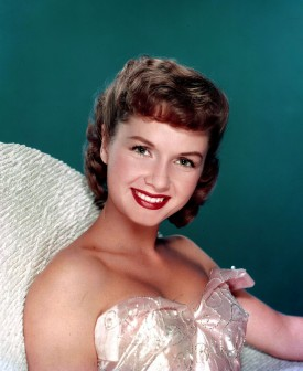 Cinema. American stage and screen actress Debbie Reynolds. Portrait. Circa 1950+s.