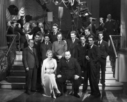 The cast and crew of SECRET AGENT