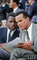 Sidney Poitier and Harry Belafonte