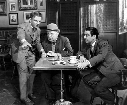 Cagney, S. Z. Sakall and Richard Whorf