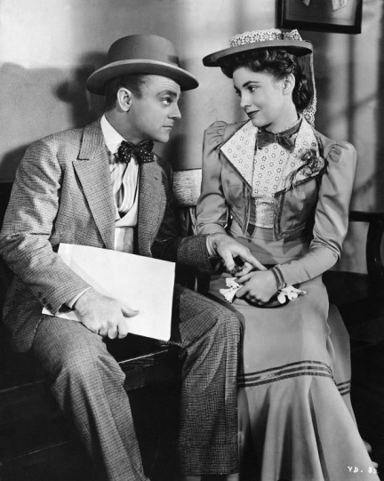Cagney and Joan Leslie