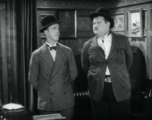In short, you know you're a bad judge if… Laurel and Hardy in DO DETECTIVES THINK? (1927)