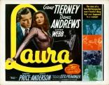LAURA_22x28_r52_original_half_sheet_movie_poster