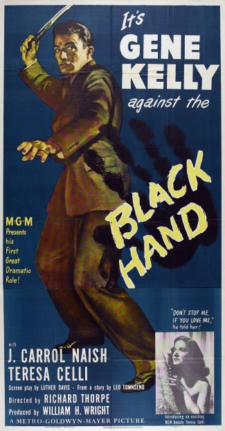 Poster - Black Hand (1950)_03
