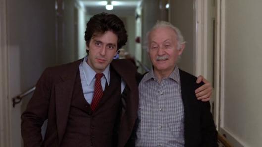 Pacino and Strasberg