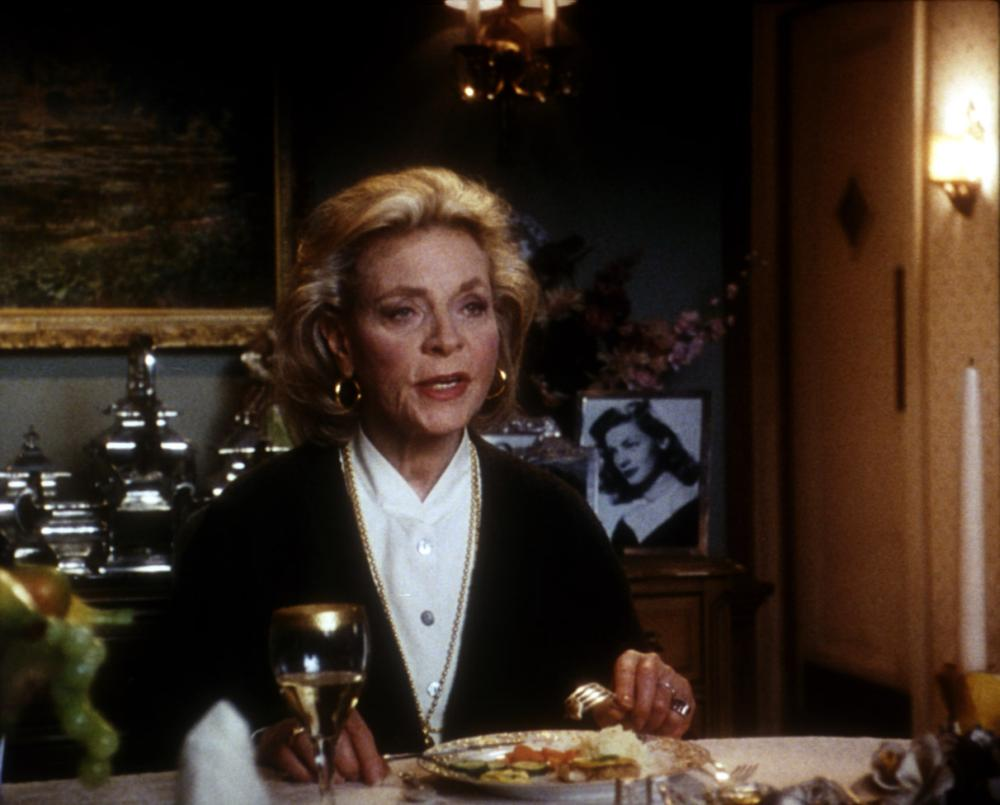 Lauren Bacall in THE MIRROR HAS TWO FACES (1996)