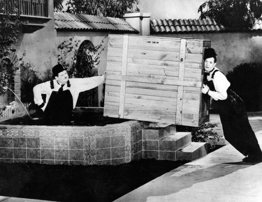 The Music Box (1932) Short Directed by James Parrott Shown: Oliver Hardy, Stan Laurel