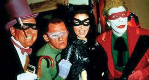 Batman 1966 masked villains
