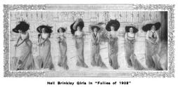 Nell Brinkley Girls - Follies of 1908