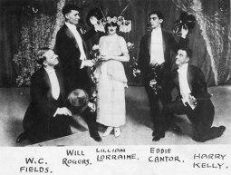 Fields, Rogers, Lorraine, Cantor, Kelly