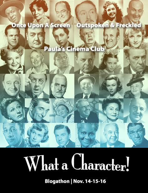 What a Character! Blogathon - Nov. 14-16