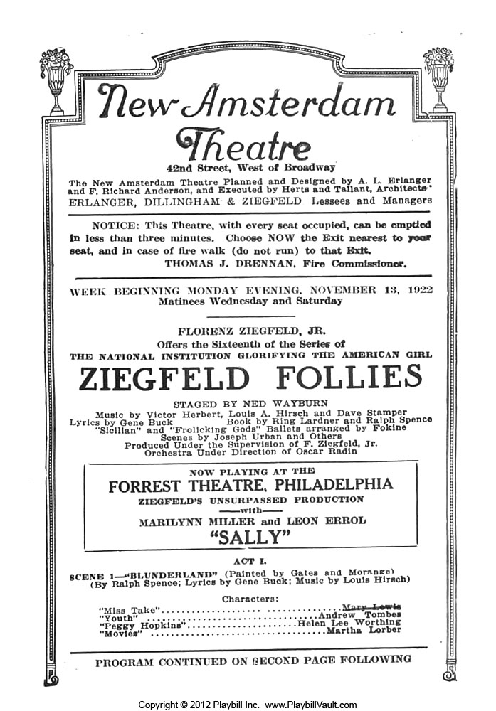 Ziegfeld-Follies-11-22-1 – Once upon a screen…