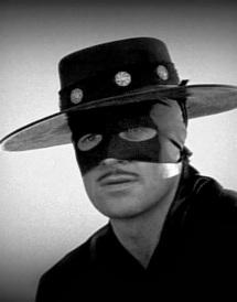 Duncan Regehr as Zorro