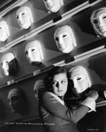 Helen Mack with masks