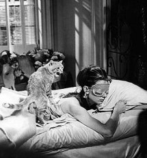 The other Hepburn in sleep mask