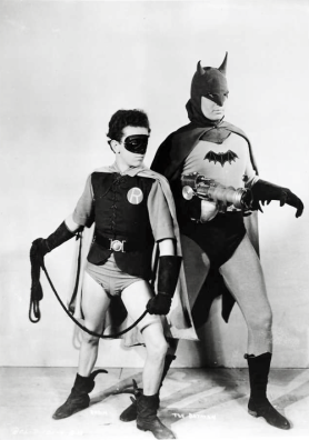 Batman and Robin from 1943 Batman Serial