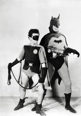 Batman and Robin from 1943 Batman Serial