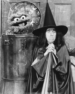 Margaret Hamilton and the Cookie Monster
