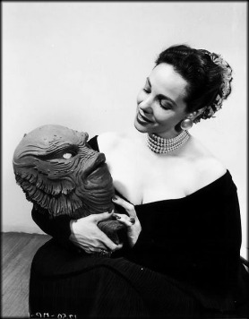 Millicent Patrick and The Creature mask