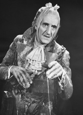 Rathbone as Marley's Ghost