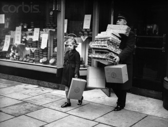 Shopping in 1936