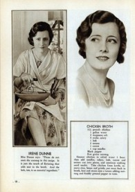Irene Dunne's Chicken Broth