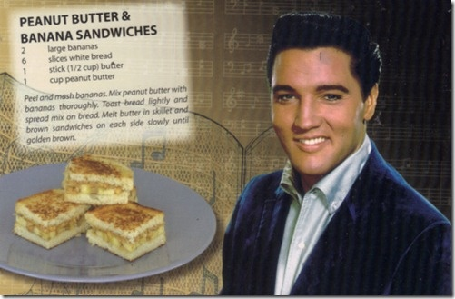 Elvis' Peanut Butter and Banana Sandwich