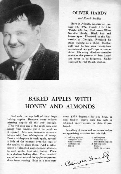 Ollie's Baked Apples