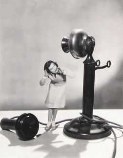 Crawford and giant phone