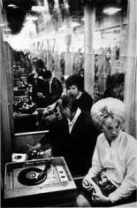 Listening booth c. 1962
