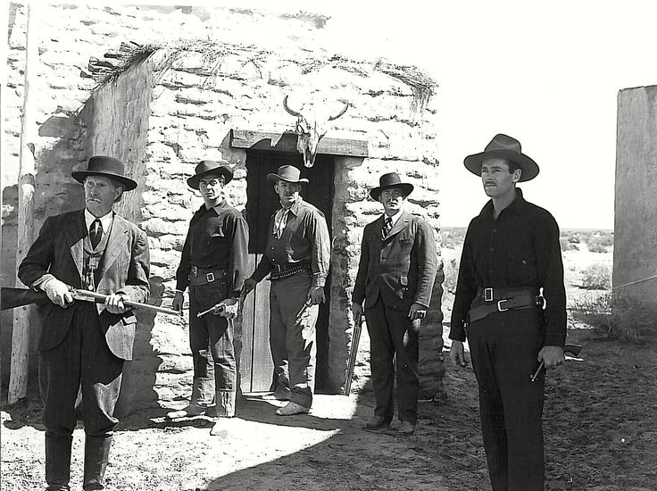 Wyatt Earp along with his brother Morgan, Doc Holliday and two men who've won Earp's favor head to the showdown at the O.K. Corral