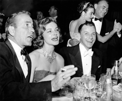 Bogart, Bacall and Sinatra