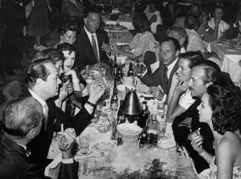 Bogart, Bacall, Luft, Garland, Niven, Sinatra among others