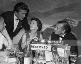 Douglas with Lord and Lady Olivier