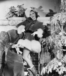 16 Dec 1940, Los Angeles, California, USA --- Original caption: 12/16/1940-Hollywood, CA- If Santa Claus' annual visit could possibly be made any more pleasant, then this fetching assistant might do it. She's Mary Martin, radio and screen singer. --- Image by © Bettmann/CORBIS