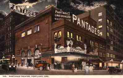 Portland's Pantages Theatre as it looked in 1915.