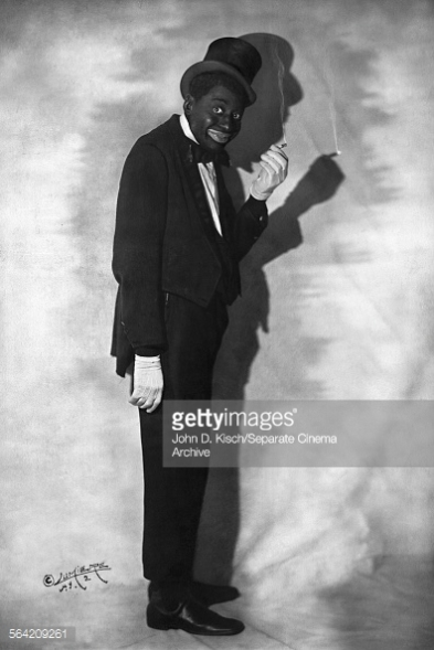 Publicity still portrait of American stage actor and Vaudeville comedian Bert Williams, 1915.