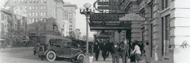 Spreckels Theatre Hippodrome 1915
