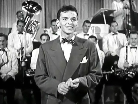 FILE--This is a 1943 portrait of Frank Sinatra. Sinatra, the dashing teen idol who matured into the premier romantic balladeer of American popular music and the ÒChairman of the BoardÓ to his millions of fans, died Thursday night, May 14, 1998, of a heart attack. He was 82. (AP Photo/Columbia Records)