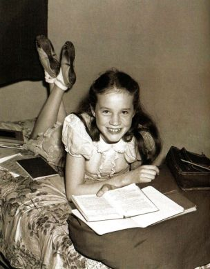 13-year-old Julie Andrews