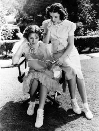 Deanna Durbin and Judy Garland read in Every Sunday 1936
