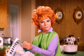 Endora reads Harpies Bizarre