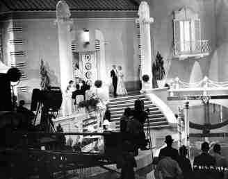 "Filming ""Cheeck to Cheek"" - Top Hat 1935"