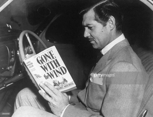 Gable reads GWTW