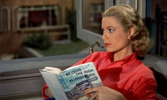 Grace in Rear Window