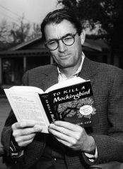 Peck reads To Kill a Mockingbird