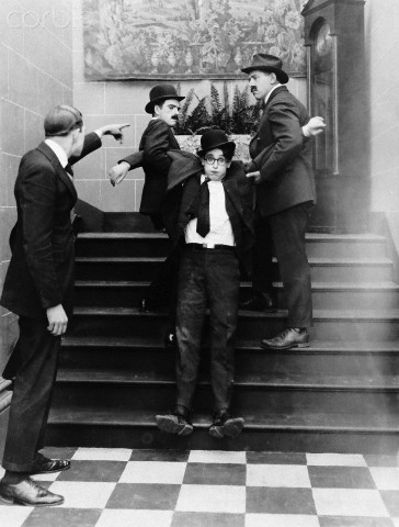 Harold Lloyd - movie scene unknown