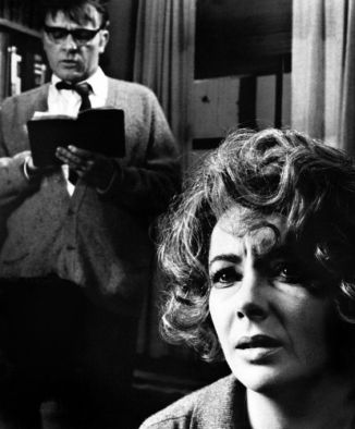 Burton and Taylor in Who's Afraid of Virginia Woolf?