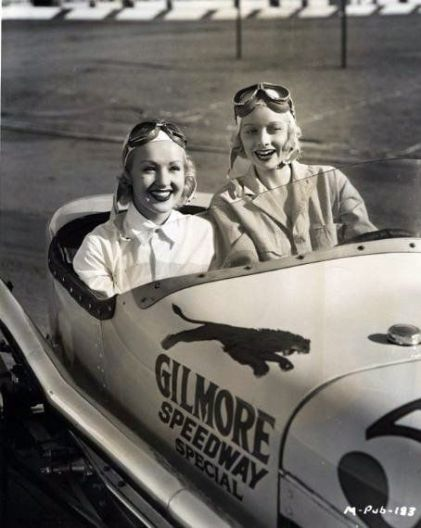 Betty Grable and Lucille Ball