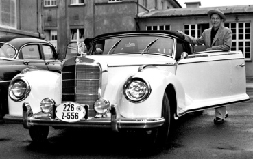 Bing and his Mercedes